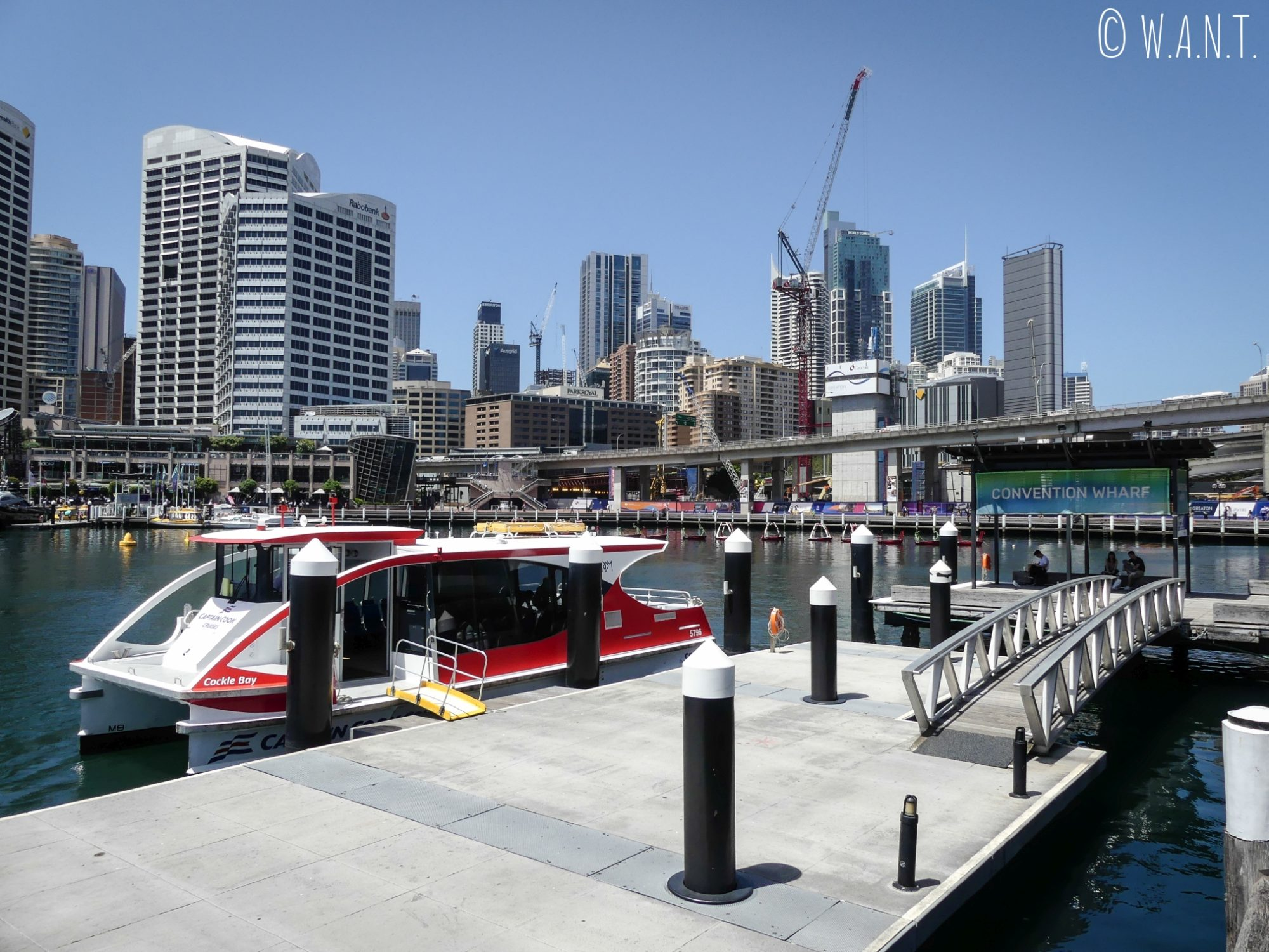 Ferry à Darling Harbour à Sydney