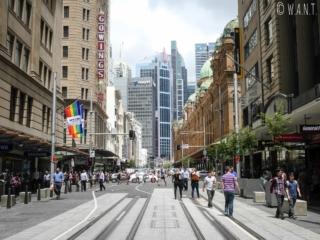 George Street à Sydney