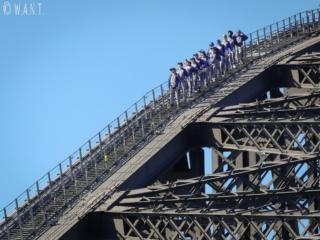 Il est possible de réaliser des activités à sensations fortes depuis Harbour Bridge à Sydney