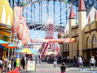 Intérieur du Luna Park de Sydney