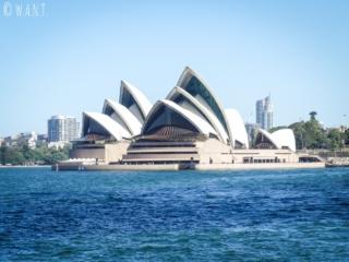 Opéra depuis le Luna Park de Sydney