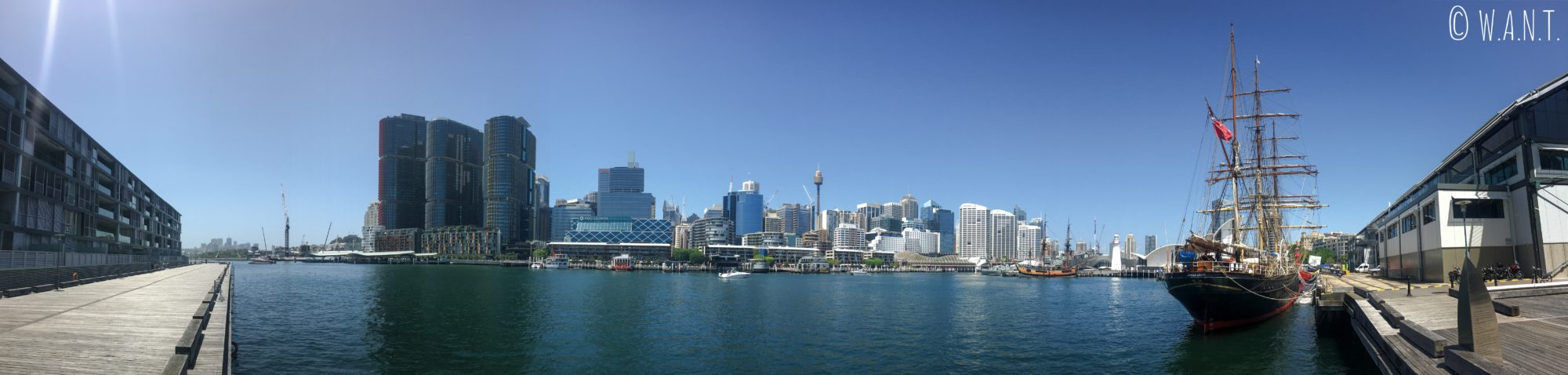 Panorama de Darling Harbour à Sydney