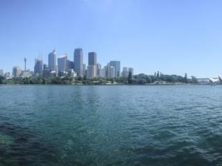 Panorama depuis Macquarie's point à Sydney