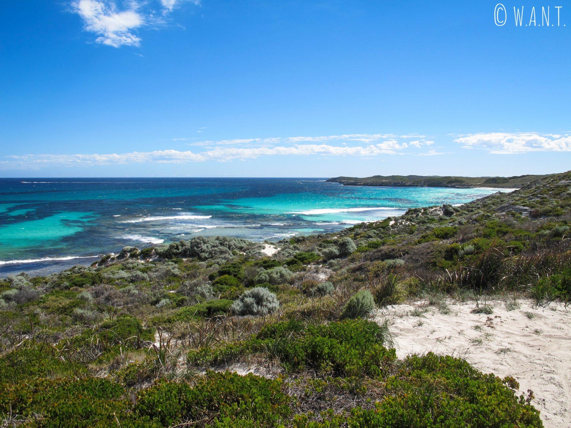 Plage et océan sur Rottnest Island