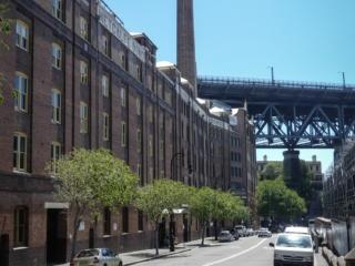 Quartier historique de The Rocks à Sydney