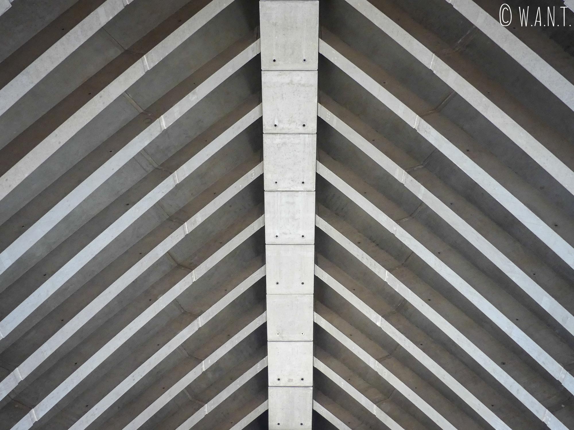 Structure intérieure de l'opéra de Sydney