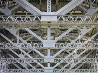 Structure métallique de Harbour Bridge à Sydney
