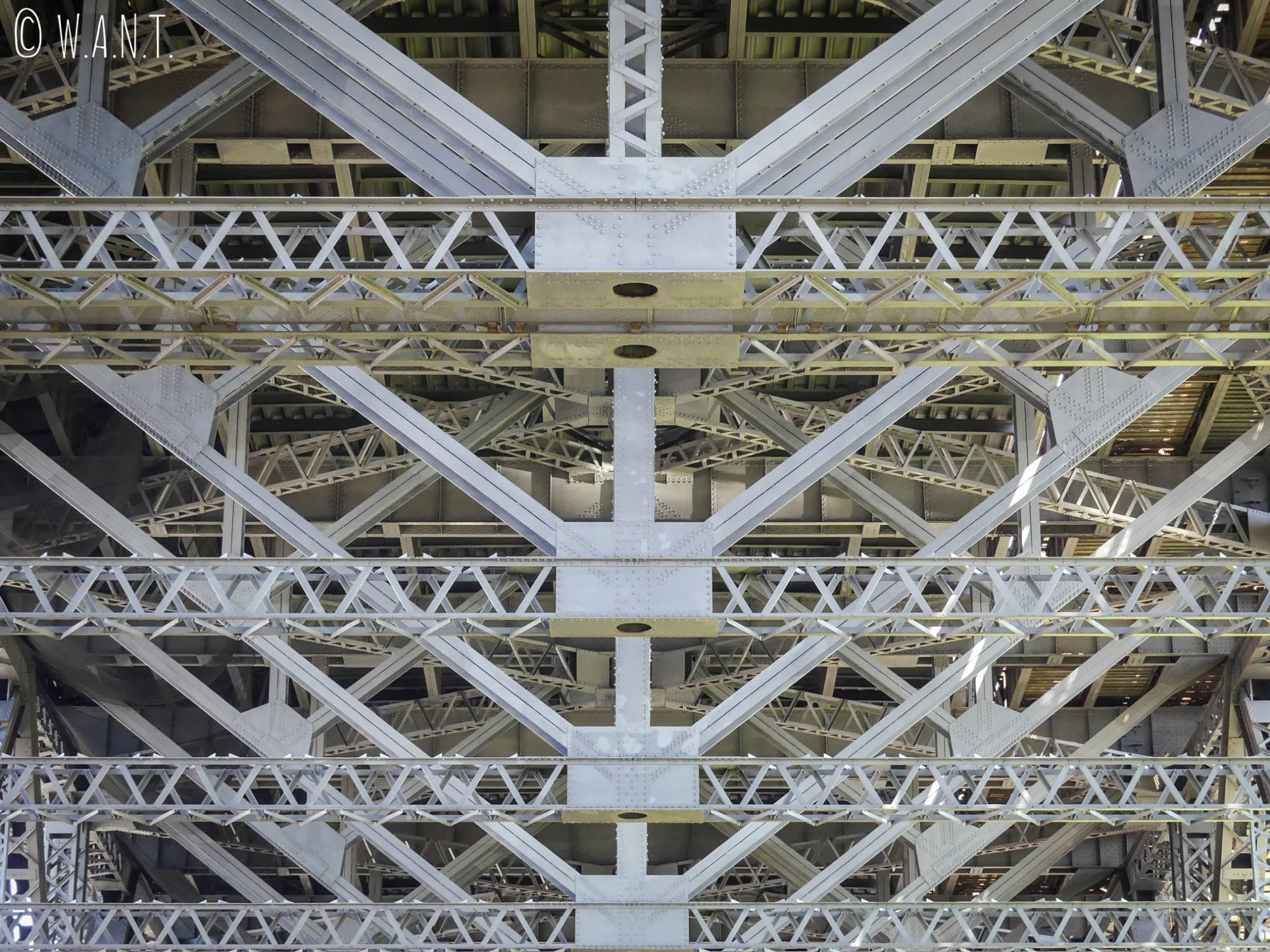 Structure métallique de Harbour Bridge à Sydney