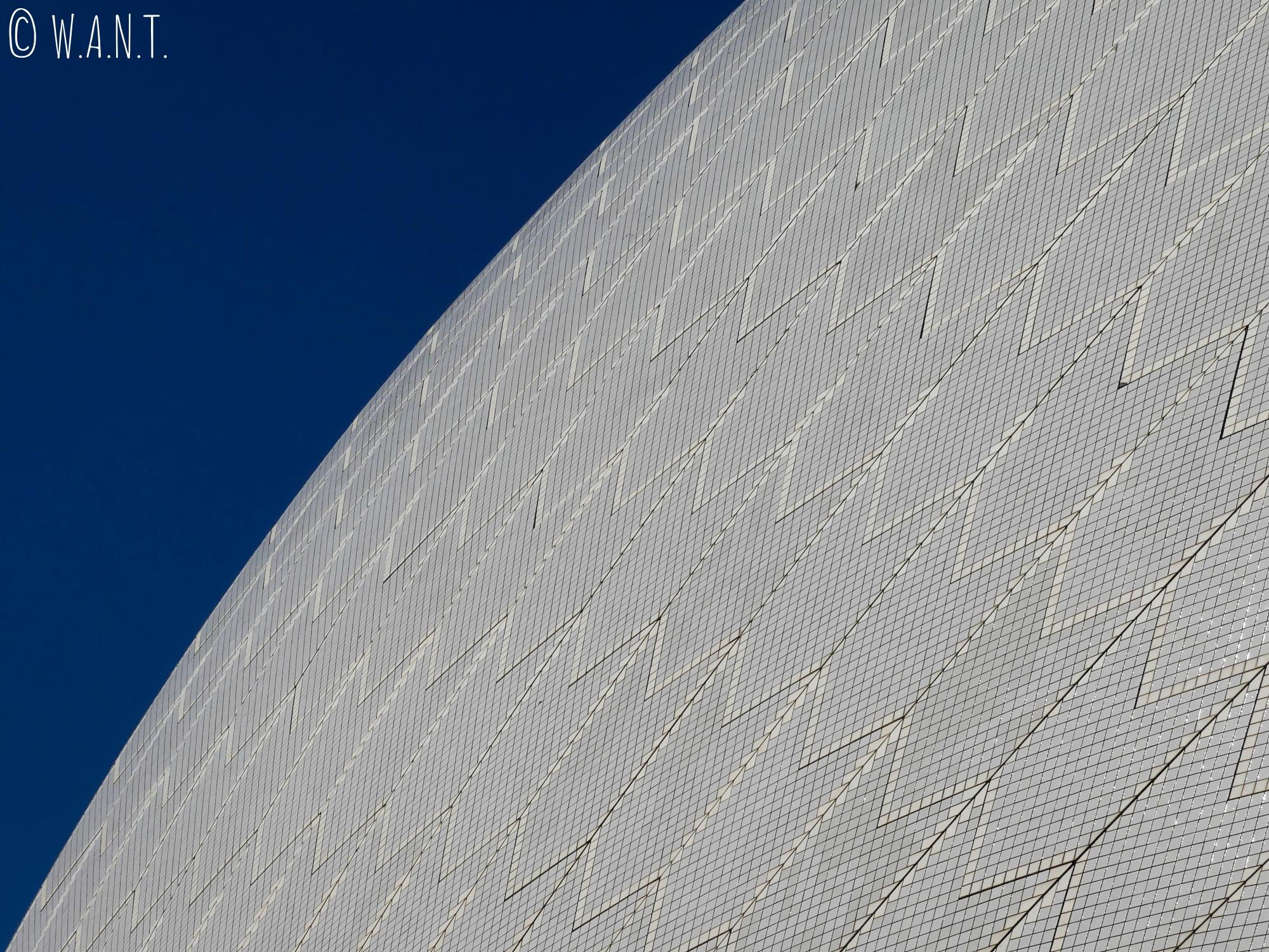 Toiture de l'opéra de Sydney