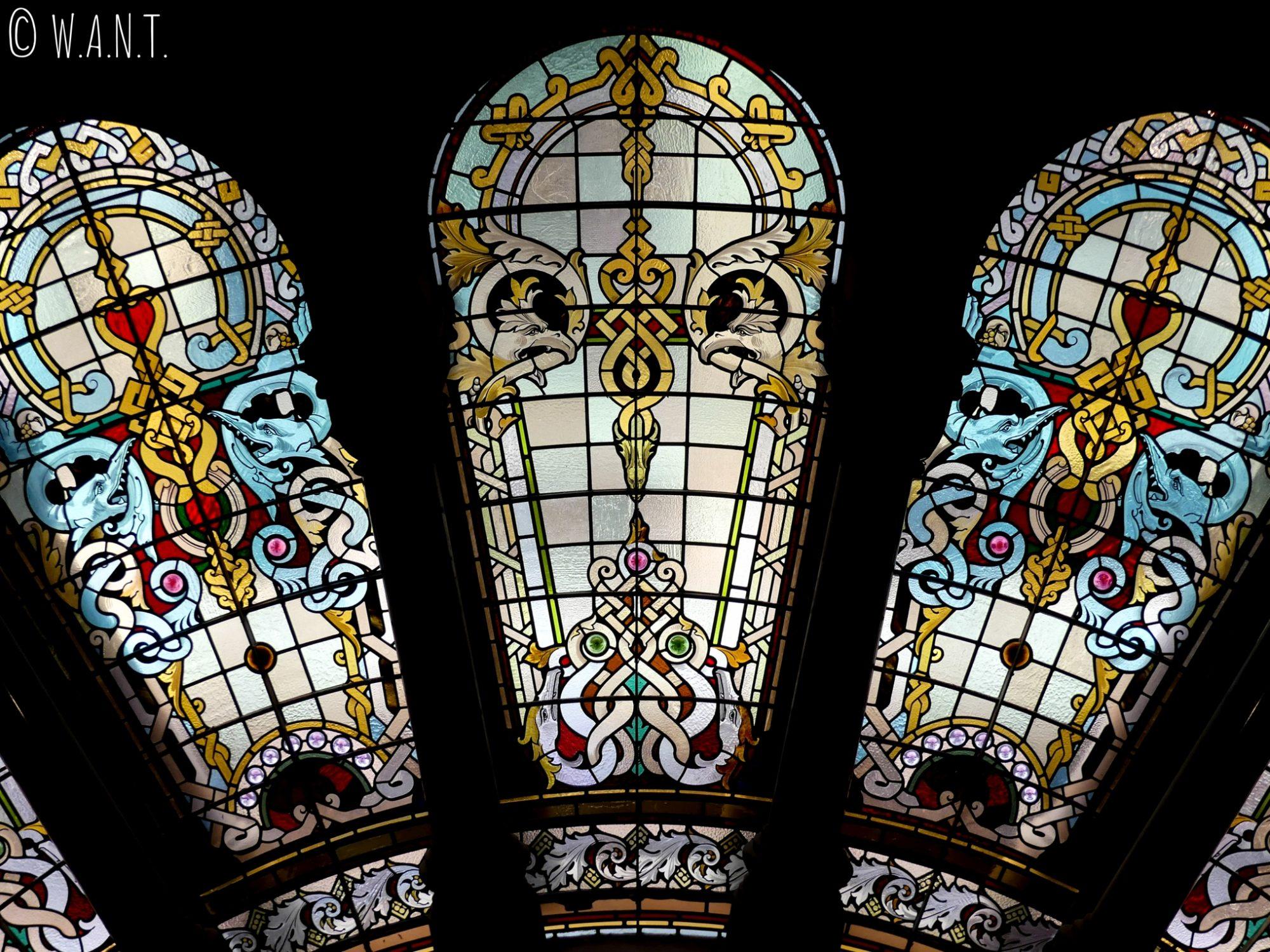 Vitraux du Queen Victoria Building à Sydney