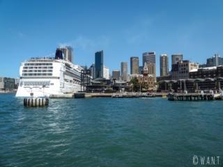 Vue sur le CBD de Sydney et Circular Quay