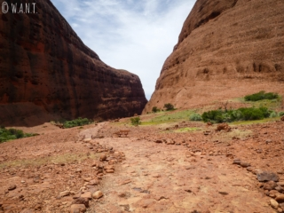 Trail Walpa Gorge dans le parc national Uluru-Kata Tjuta
