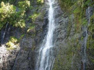Cascade de Vaimahutu sur l'île de Tahiti