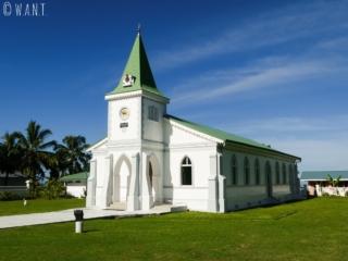 Eglise de Haapiti sur l'île de Moorea