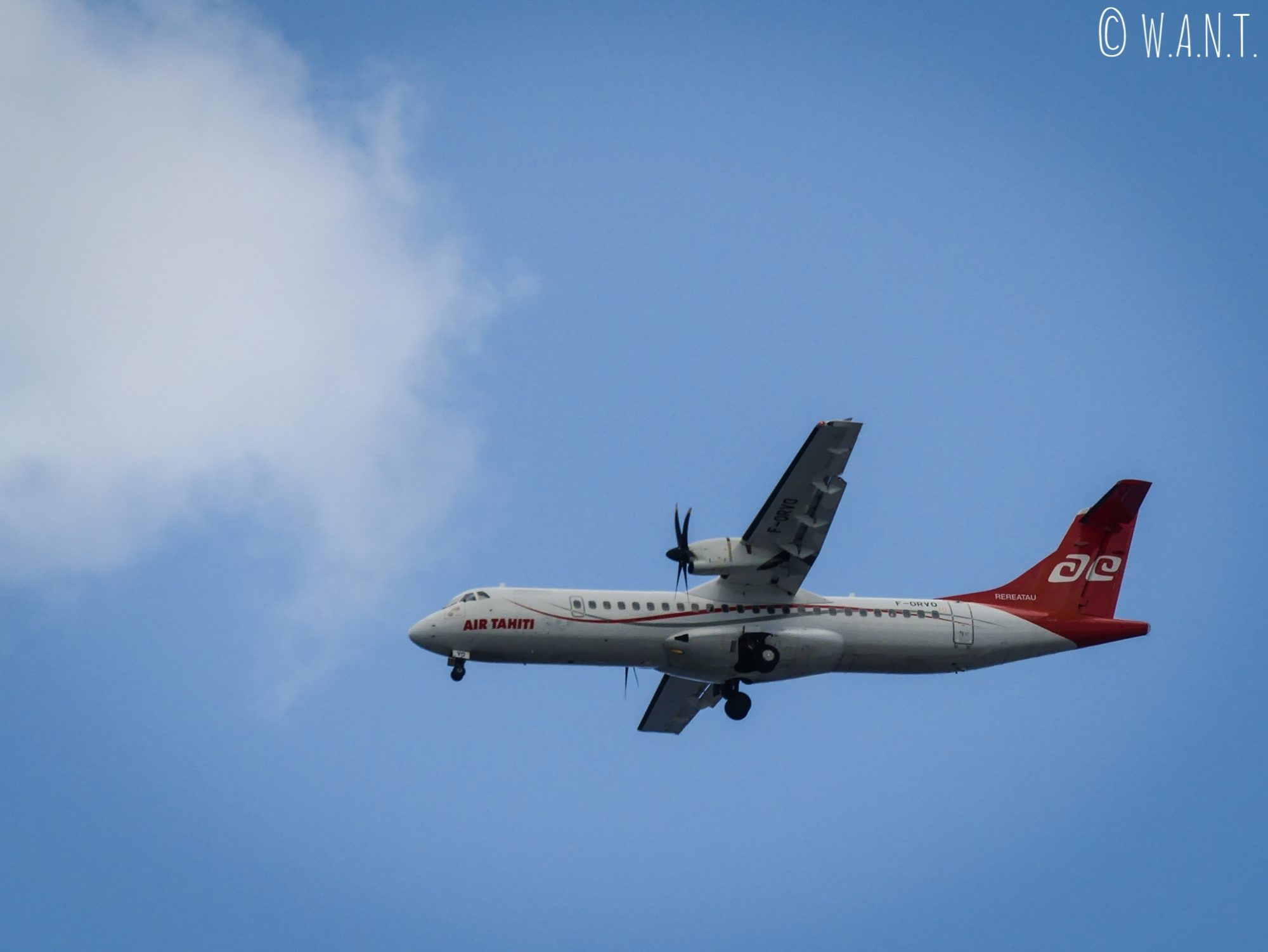 Il est possible de se déplacer aisément en avion en Polynésie Française