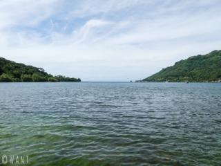 La baie de Cook sur l'île de Moorea