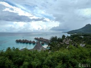 L'hôtel Sofitel face à Papeete sur l'île de Moorea