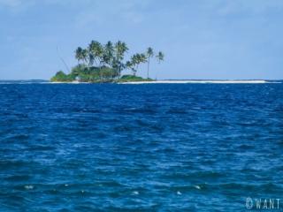 Motu sur le lagon de Tahiti