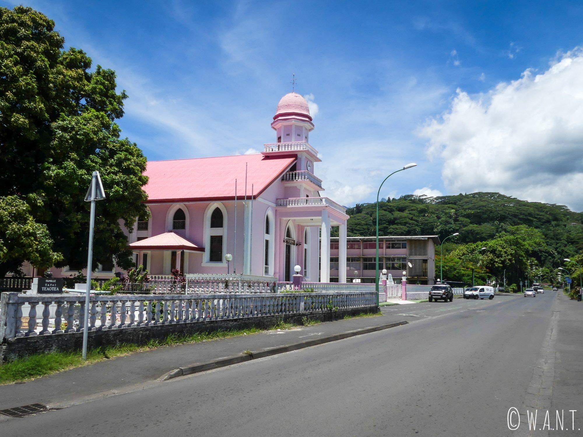 Nombreuses sont les églises sur l'île de Tahiti