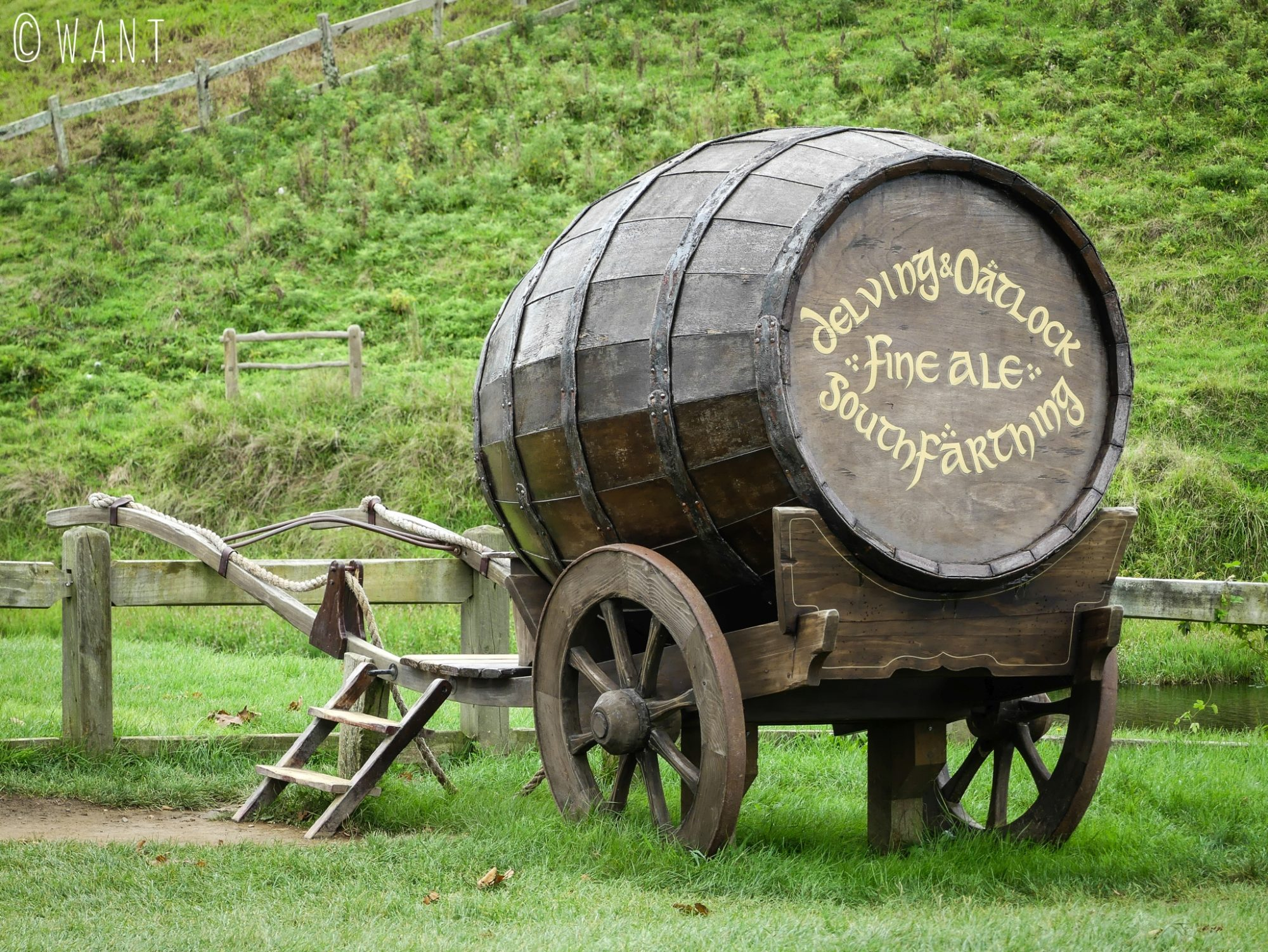 Breuvage des hobbits que nous avons dégusté au Green Dragon de Hobbiton en Nouvelle-Zélande