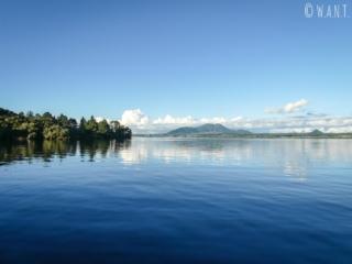 La bateau est le meilleur moyen de profiter du lac Taupo en Nouvelle-Zélande