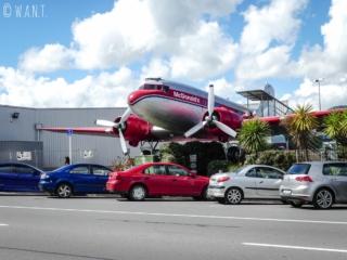 McDo de Taupo en Nouvelle-Zélande, faisant partie de la liste des dix plus cools au monde