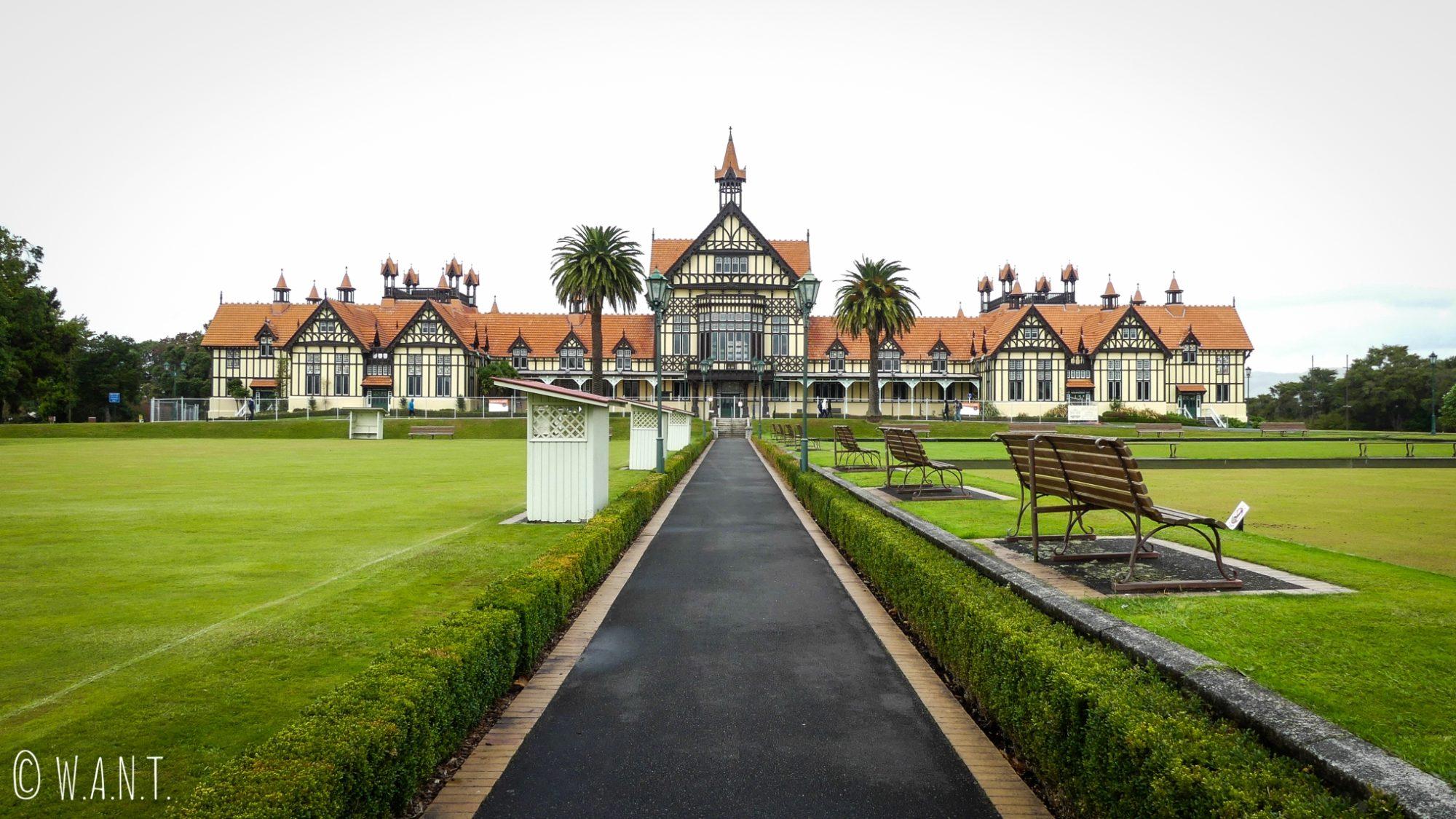 Musée de la ville de Rotorua en Nouvelle-Zélande