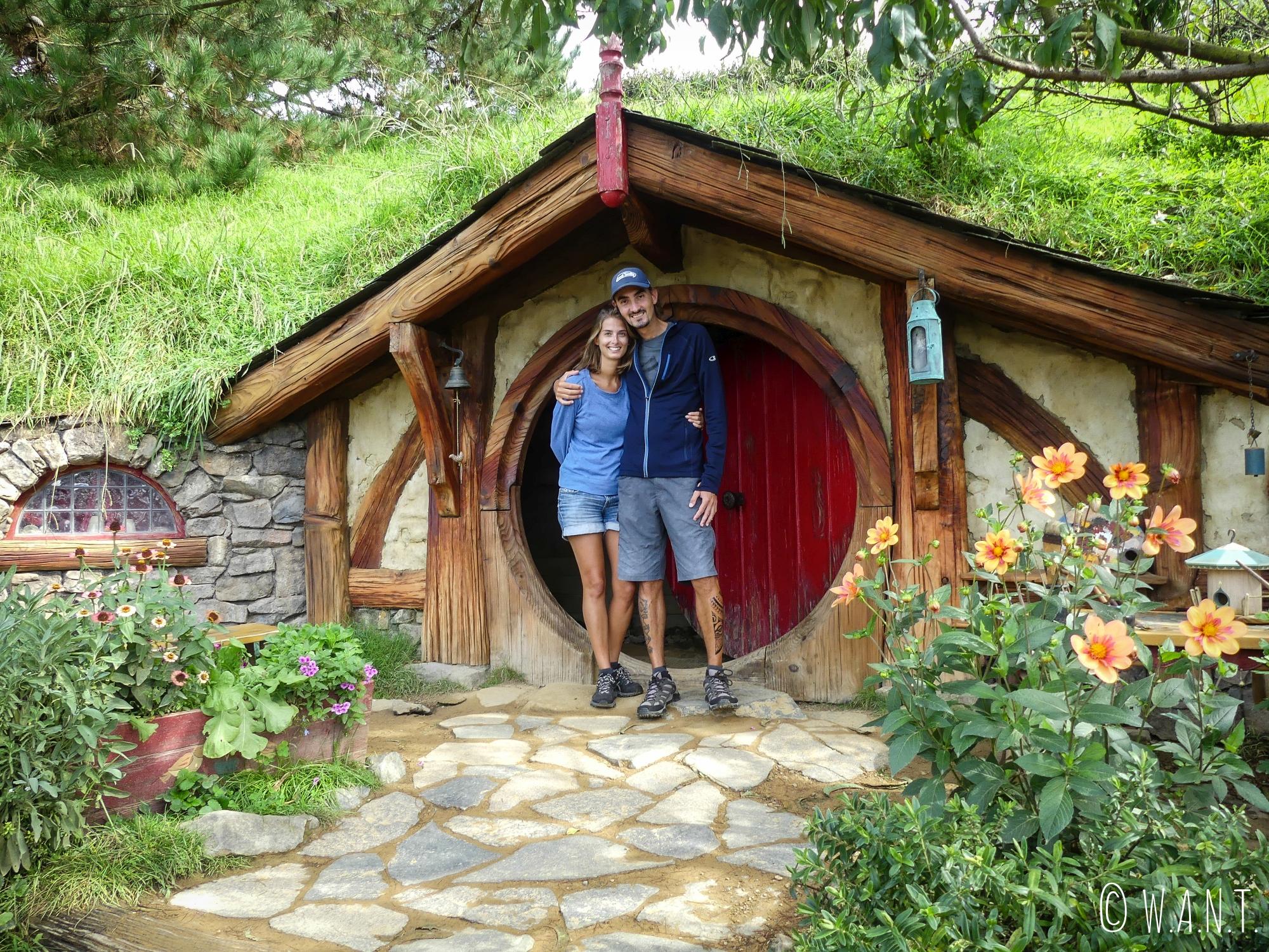 Nous nous serions bien installés dans cette petite maison à Hobbiton en Nouvelle-Zélande