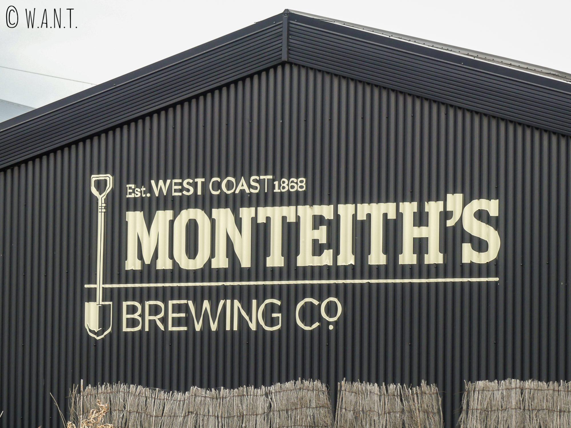 La bière Monteith's est une bière néo-zélandaise