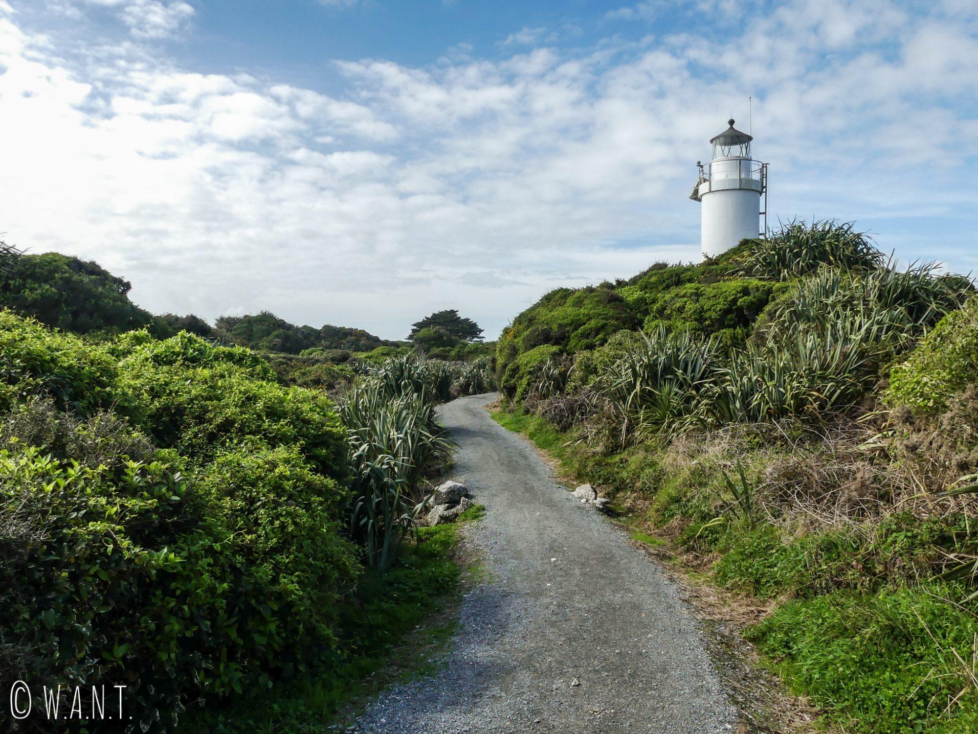 Phare du Cape Foulwind en Nouvelle-Zélande