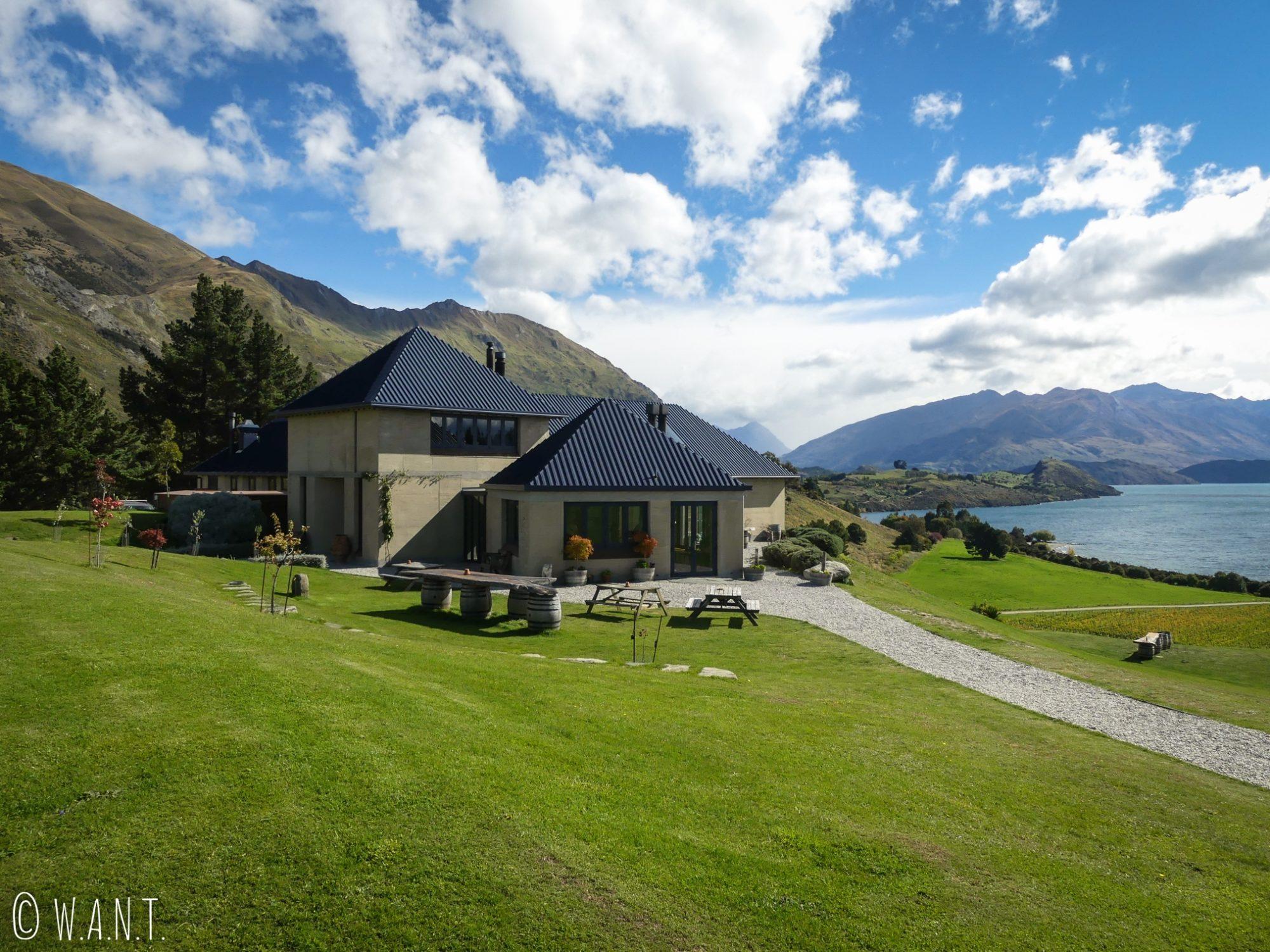 De passage à Wanaka en Nouvelle-Zélande, nous sommes allés dégustés les vins du domaine Rippon