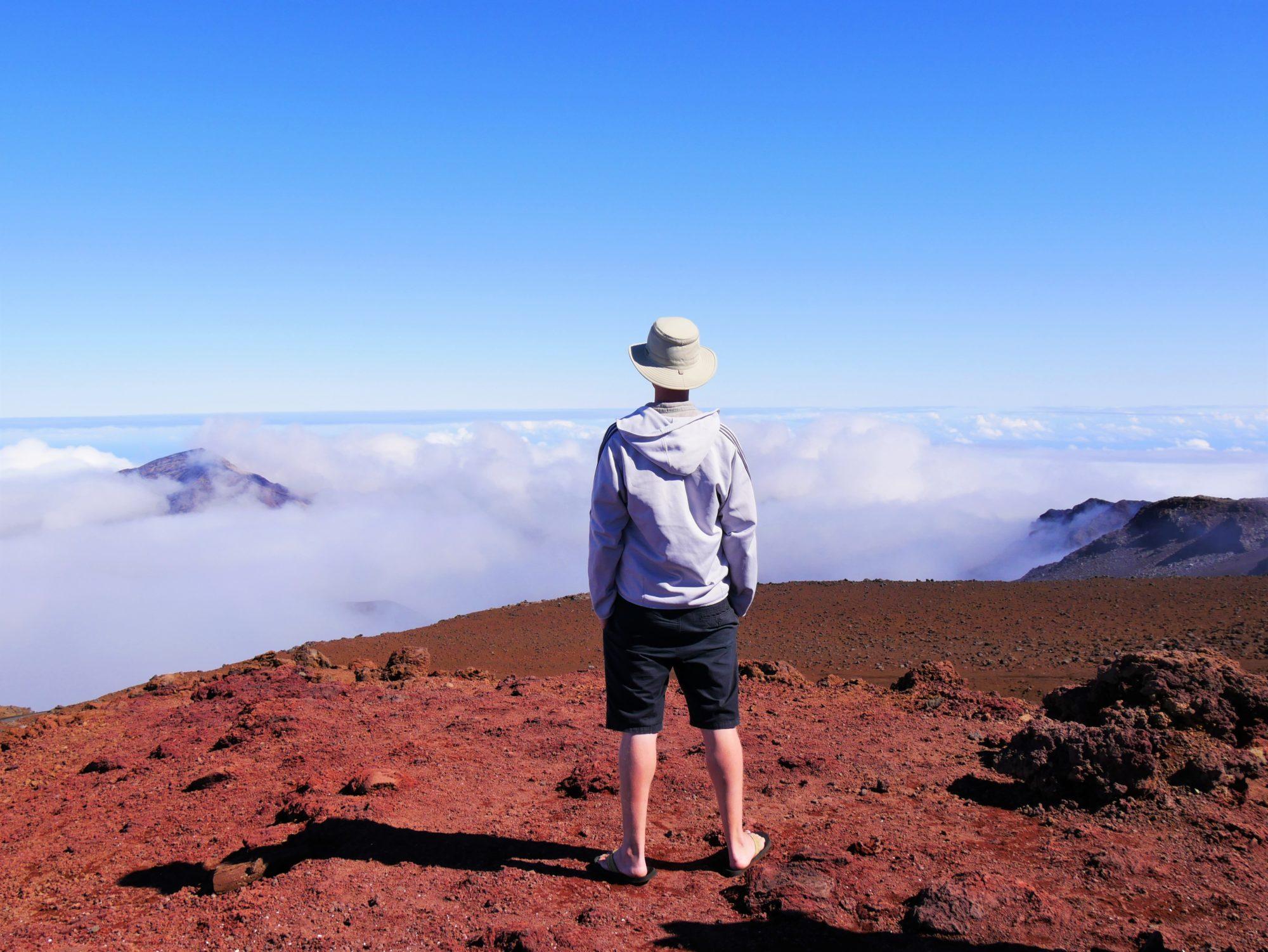 Parc nation de Haleakala à Maui