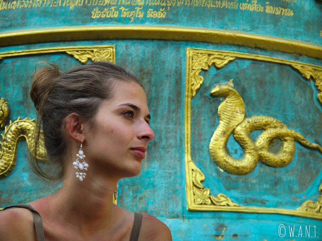 Wat Klang Wieng, Chiang Rai, Thaïlande