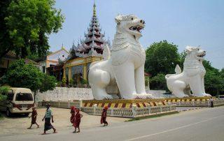 Entrée Sud de Mandalay Hill