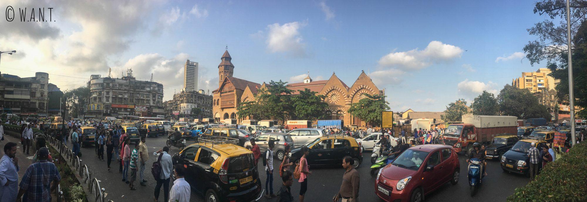 Panorama de Crawford market