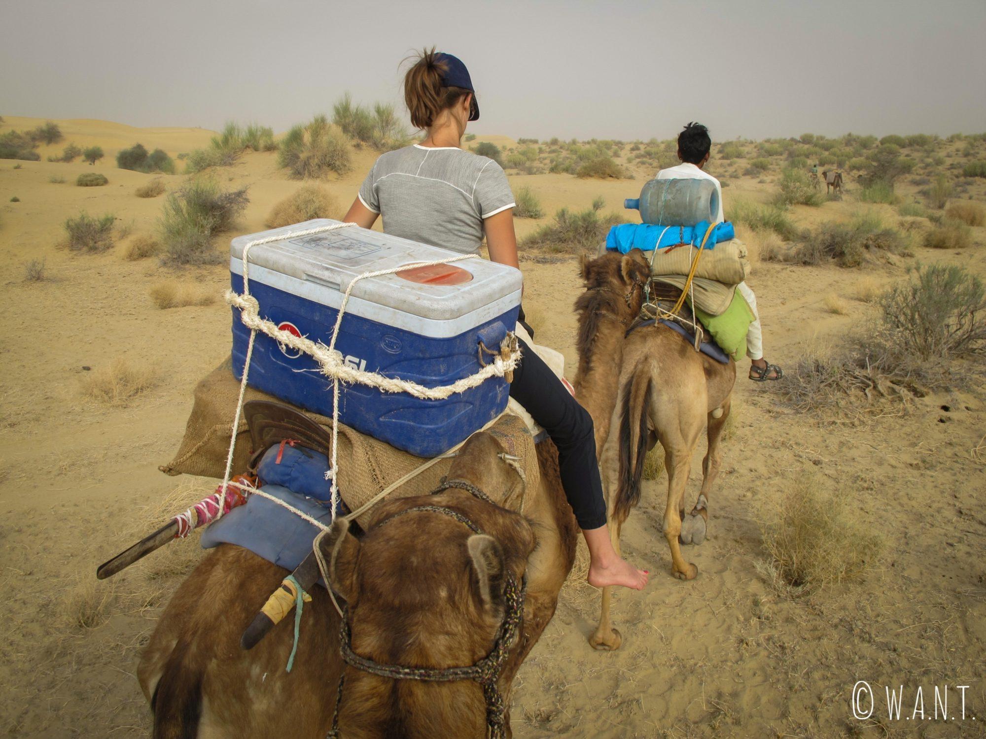 La caravane repart vers les portes du désert