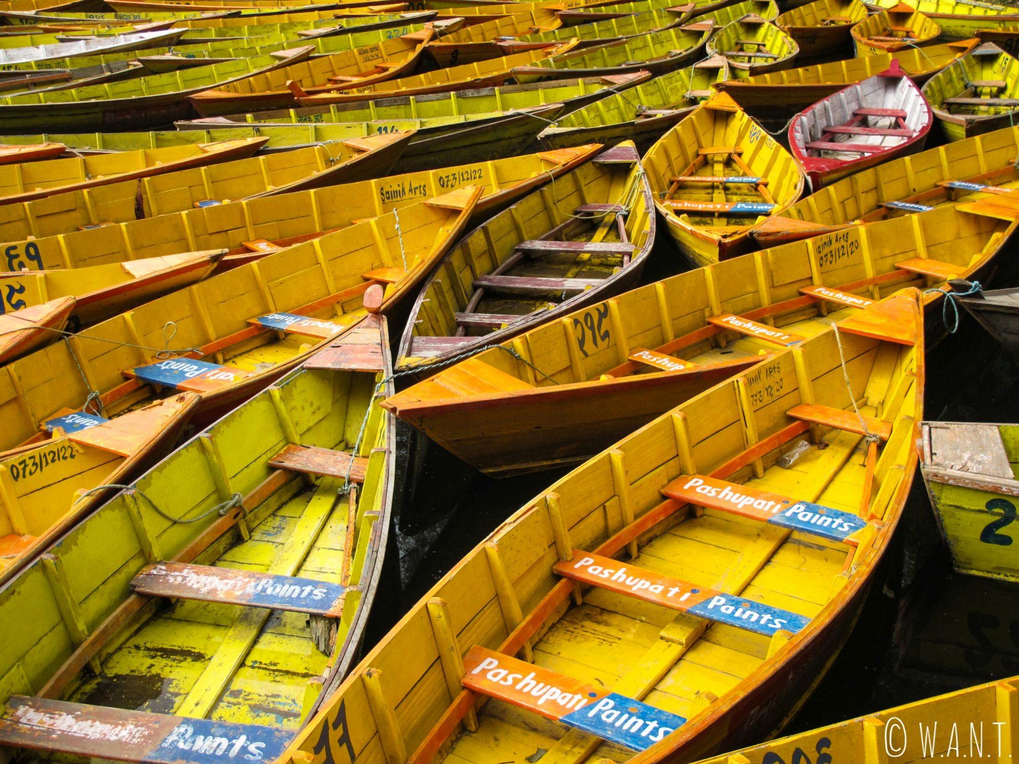 Embarcations à louer sur le Begnas Lake
