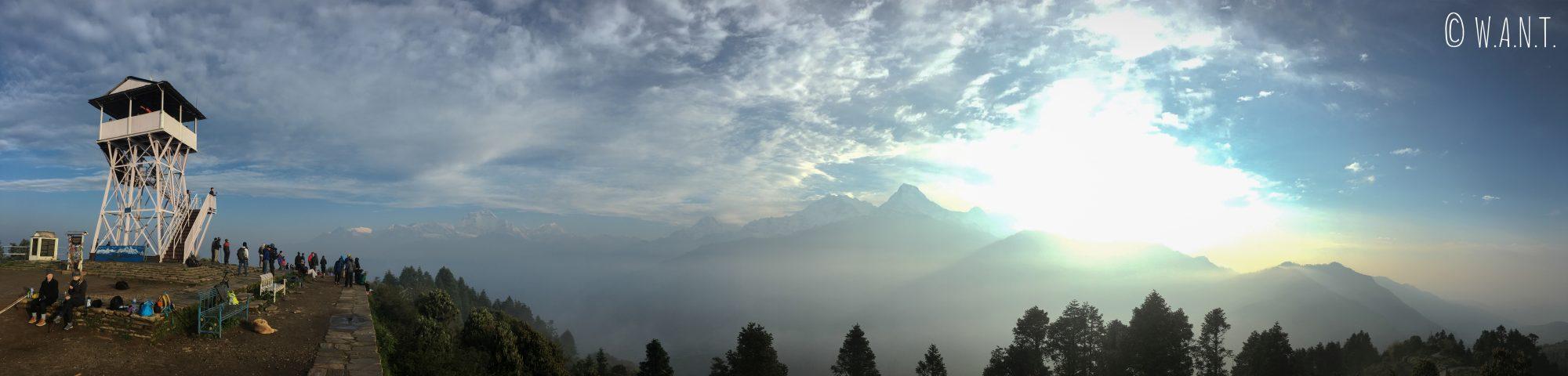 Panorama depuis Poon Hill
