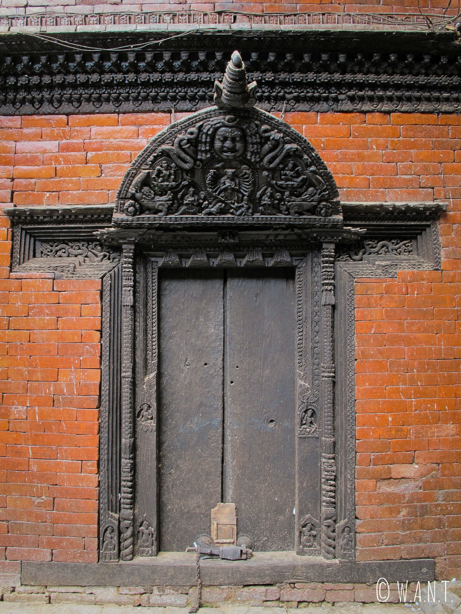 Porte sur Durbar Square à Katmandou