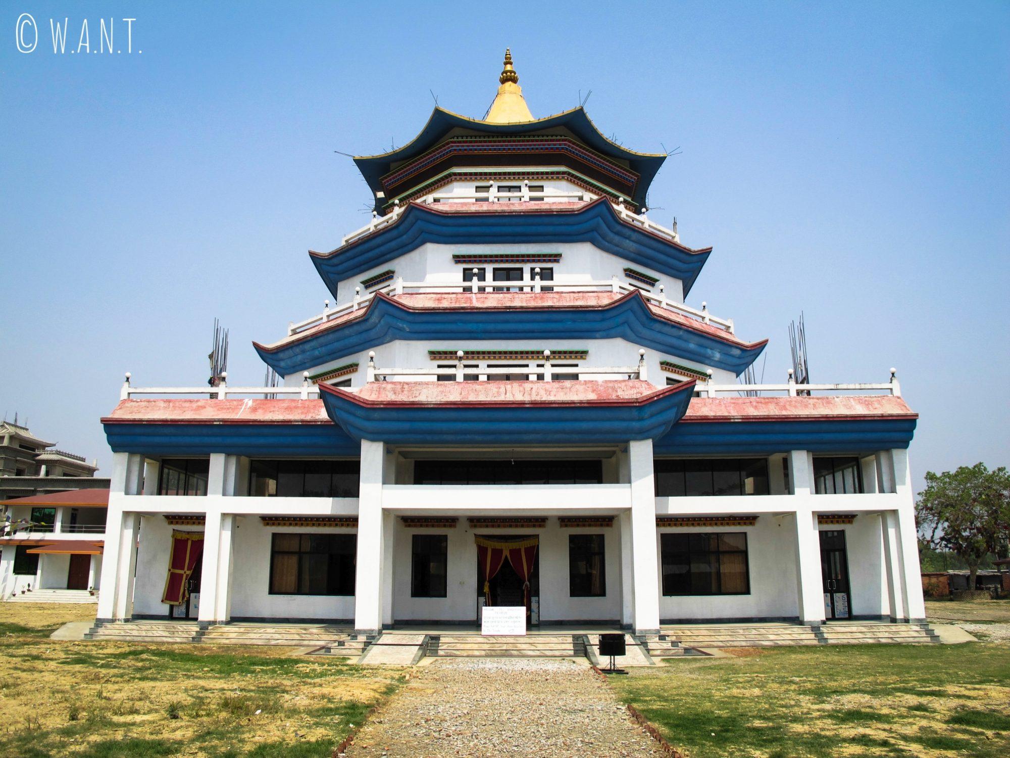 Temple de Singapour à Lumbini