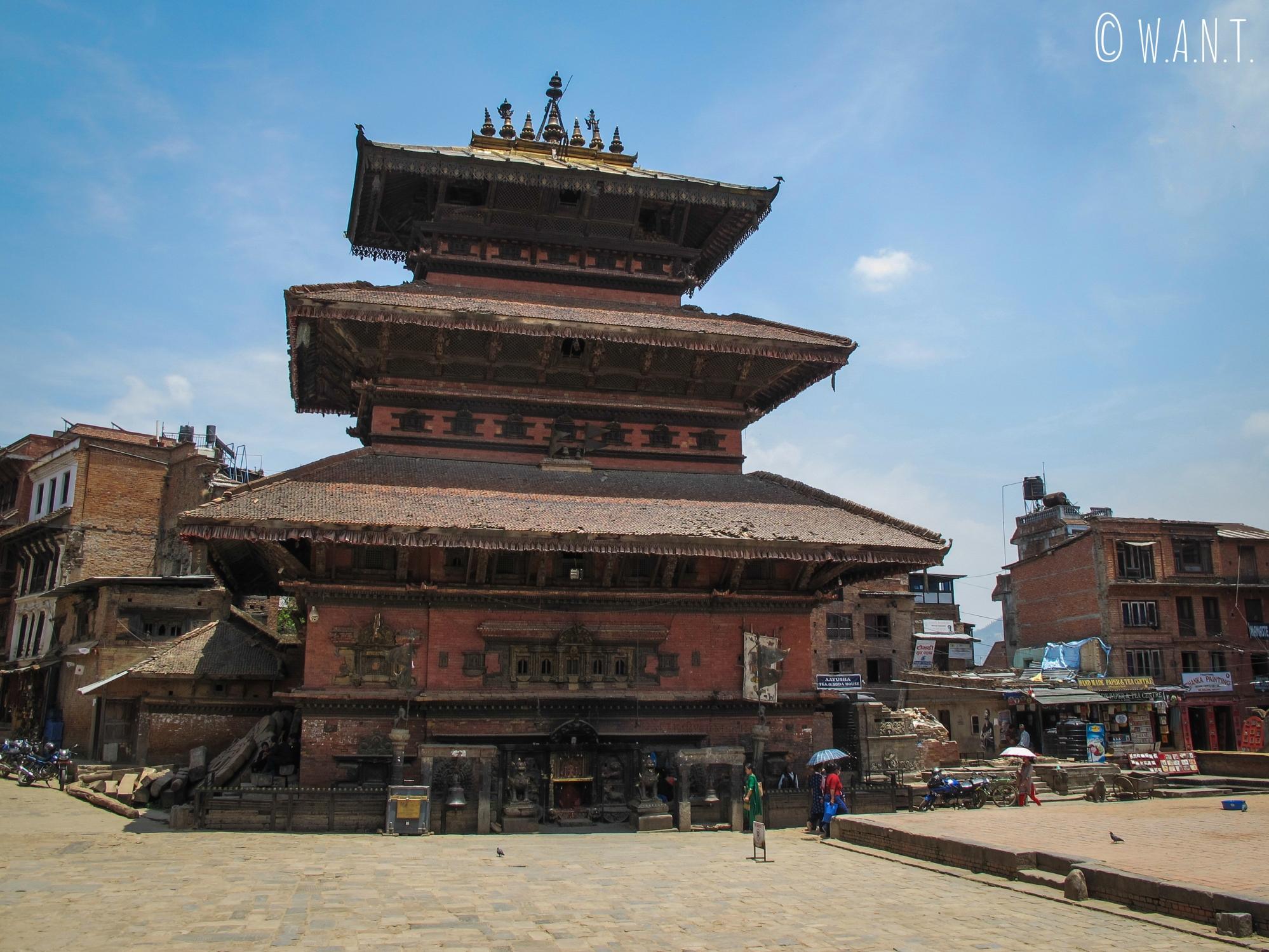 Temple de la place Taumadhi à Bhaktapur