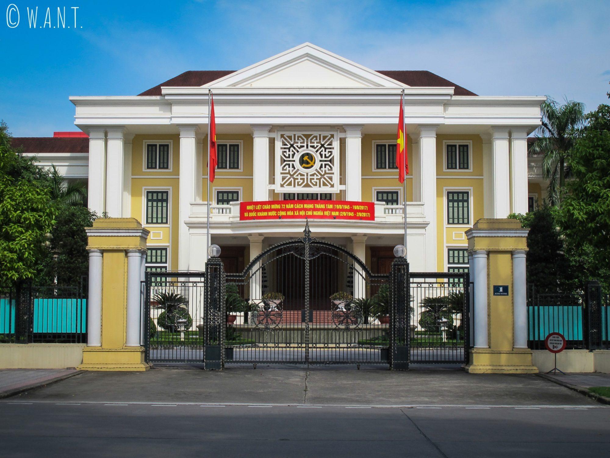 Bâtiment du parti communiste à Hanoï