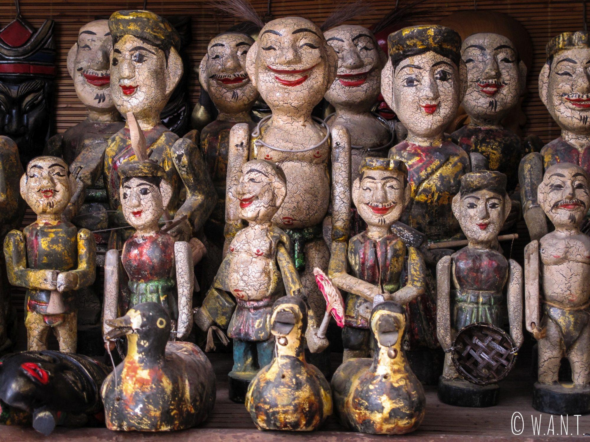 Marionnettes traditionnelles du Vietnam