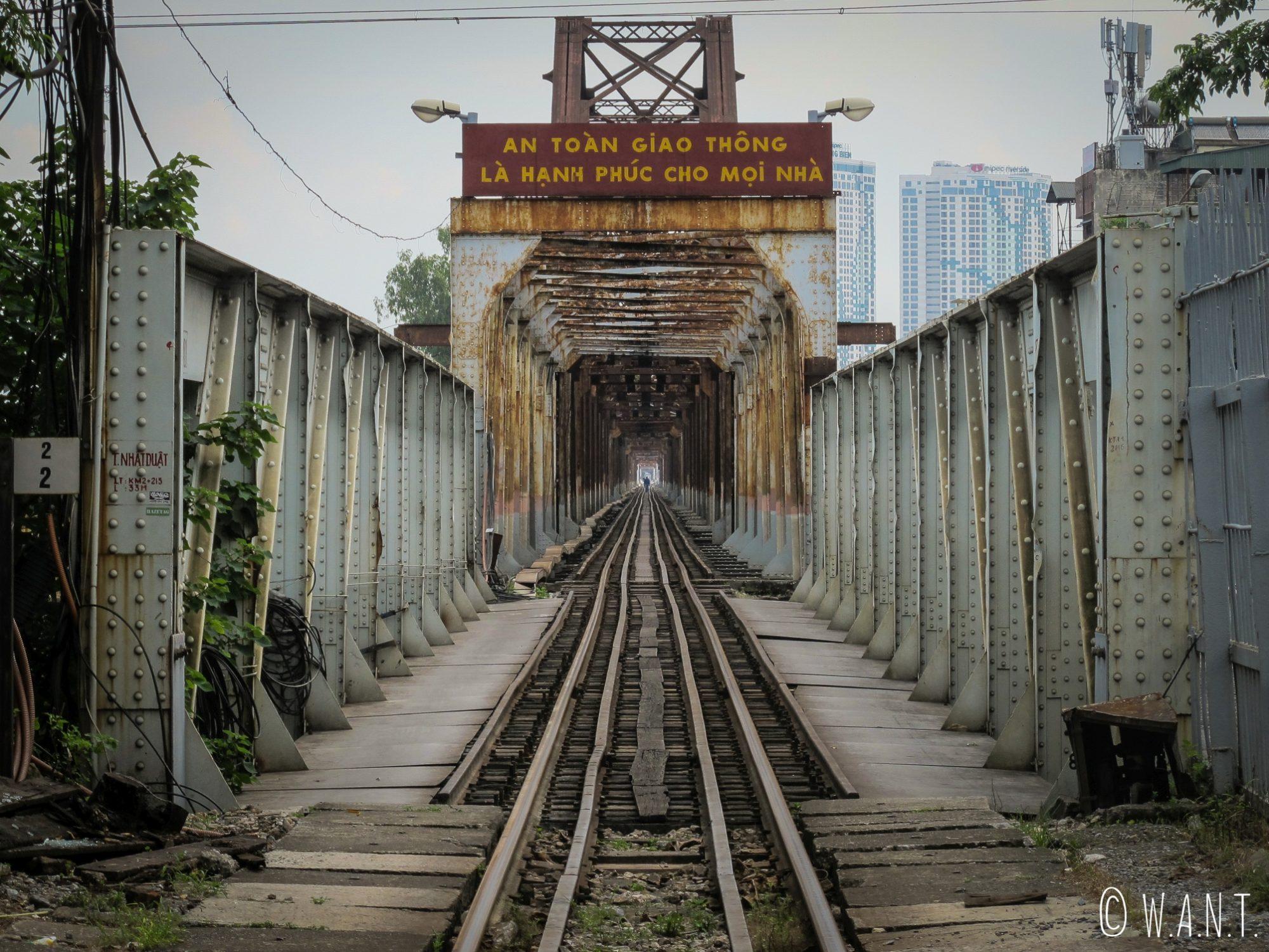 Pont de Long Biên à Hanoï
