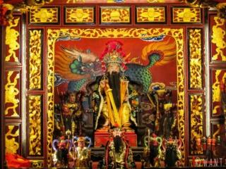 Autel du Hiang Thian Siang Ti Temple de Kuching