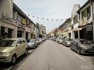 Carpenter Street à Kuching