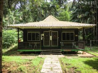 Lodge de type 6 du Bako National Park vu de l'extérieur