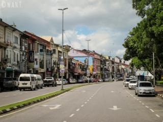 Rue Jalan Main Bazaar de Kuching