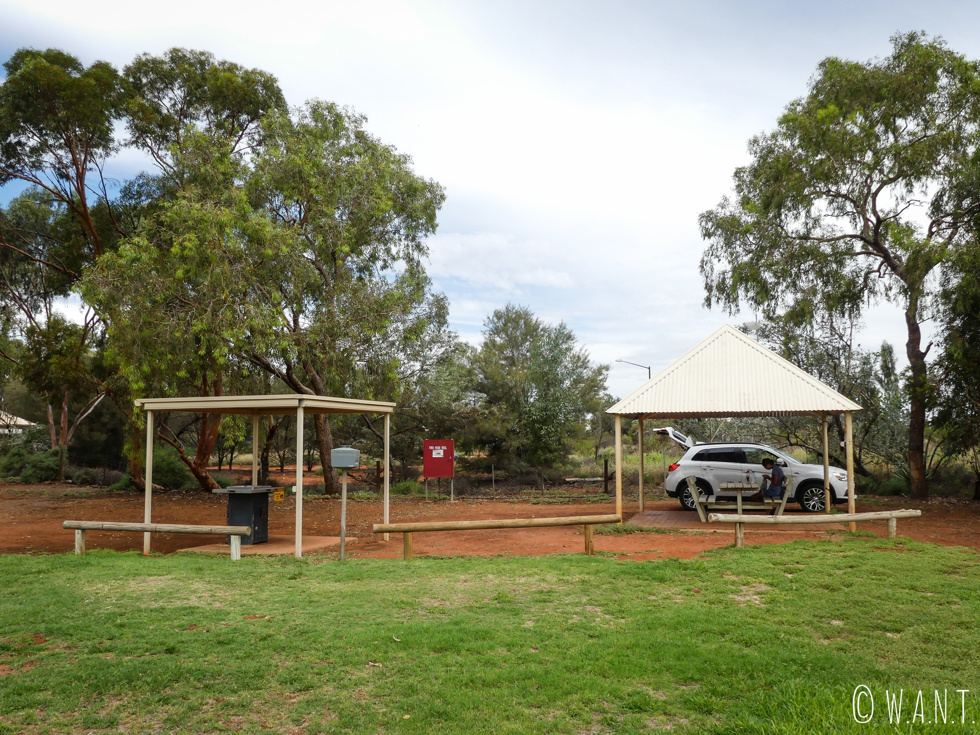 Infrastructures du Ayers Rock Campground