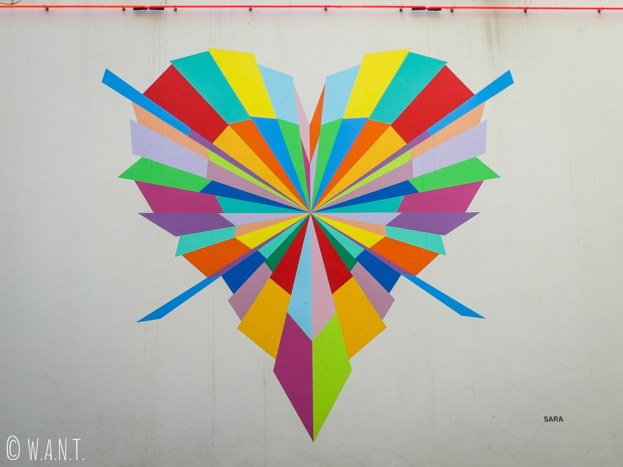 Quelques pièces d'art dans les rues du centre d'Auckland